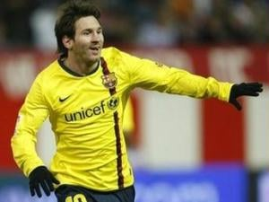 Lionel Messi, atacante do Barcelona