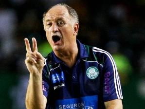 Felipão, técnico do Palmeiras, na partida Ceará 0 x 0 Palmeiras, pela 11ª rodada do Brasileirão, ...