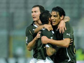 Floccari Lazio x Parma
