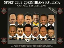 Baixe o papel de parede do Corinthians campeão paulista. Coloque o Timão  campeão invicto de 2009 no plano de fundo do seu PC 25d3af9f61435