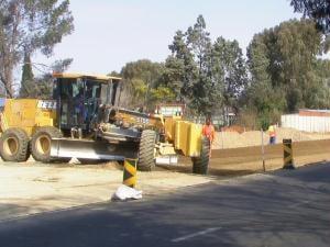 Trator em Bloemfontein