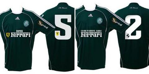 Futebol - iG Esporte - Palmeiras pode ter logo da Ferrari na camisa 358b4c7e277bc