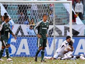 Palmeiras cai diante da LDU