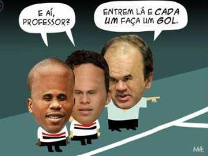Borges, Marlos e Gomes
