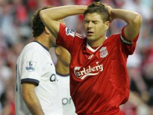 Gerrard lamenta-se