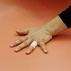 Yuko Sano, líbero do Japão, tenta defesa em partida contra a Itália, pelo Grand Prix