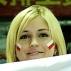 Torcida da Polônia no Grand Prix de vôlei 2010