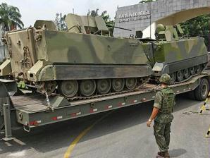 Militares entram em ação no Rio