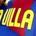 David Villa comemora gol contra o Sporting Gijón