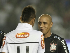 Roberto Carlos e Neymar