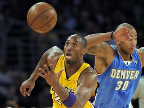 kobe bryant / lakers e nugetts