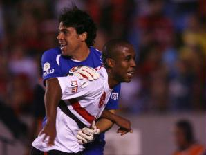 Borges roubou a cena num Maracan� repleto de flamenguistas. No final, Flamengo 2 x 4 S�o Paulo, e...