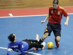 espanha Líbia futsal