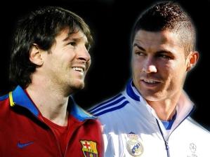 Lionel Messi e Cristiano Ronaldo