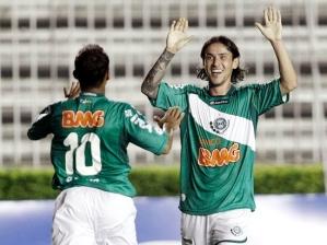 Marcos Aurélio e Enrico, do Coritiba