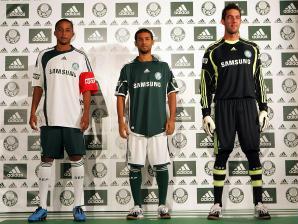 Novos uniformes do Palmeiras