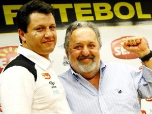 Adilson Batista e Luís Álvaro de Oliveira