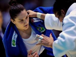 Mayra Aguiar derrota cubana no Mundial de Judô