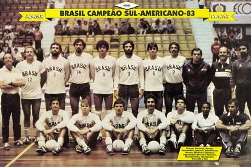 Resultado de imagem para brasil volei 1984