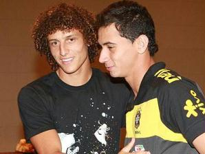 David Luiz e Ganso