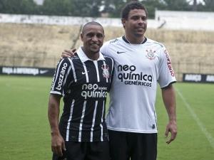 Roberto Carlos e Ronaldo