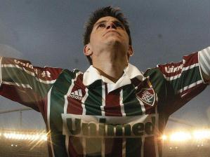 Conca comemora o título do Fluminense