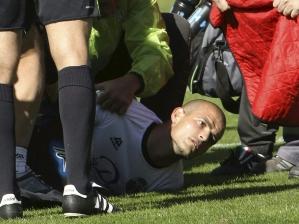 Miguel Garcia, do Salamanca, sofre um ataque cardíaco em campo