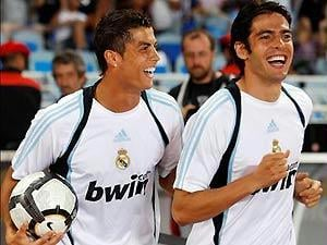 Cristiano Ronaldo e Kaká