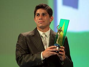Conca, do Fluminense, levou o prêmio de melhor meia esquerda