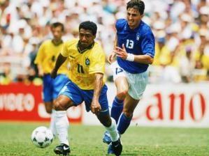 Romário contra a Itália