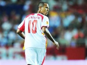 Luís Fabiano em ação pelo Sevilla
