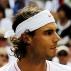 Rafael Nadal e Tom�s Berdych se cumprimentam antes do in�cio da final de Wimbledon