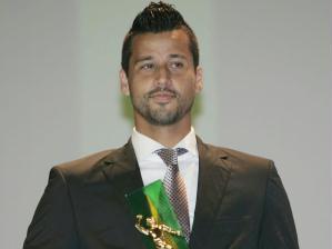O goleiro Fábio, do Cruzeiro, foi eleito o melhor goleiro do Campeonato Brasileiro