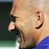 Zidane (D) e Barthez em treino da sele��o francesa, no dia 1/9/2010