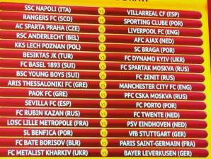 Resultados Liga Europa