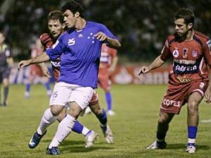 Kléber, atacante do Cruzeiro