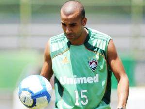 Emerson, atacante do Fluminense, durante treino do time nas Laranjeiras