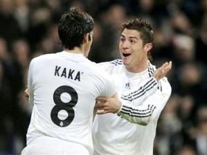 Kaká e Cristiano Ronaldo