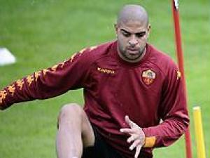 Adriano Roma treino