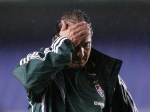 Muricy, na estreia pelo Fluminense