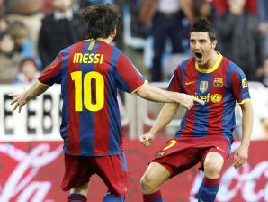 Messi Barcelona x Zaragoza
