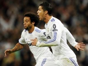 Cristiano Ronaldo abriu o placar para o Real Madrid
