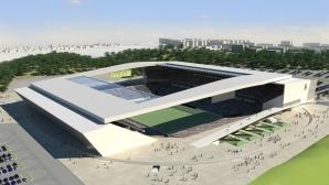 Imagem do estádio do Corinthians que será construído pela construtora Odebrecht