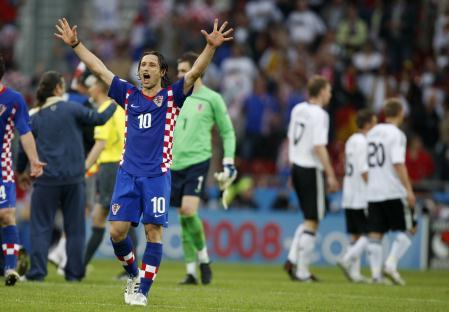 Niko Kovac não esconde a empolgação após a sua seleção derrotas a favorita Alemanha
