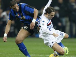 Adriano e Gastadello antes da agressão