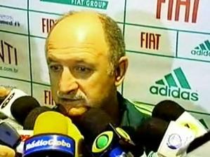 Felipão dá entrevista coletiva após Atlético-PR 1 x 0 Palmeiras