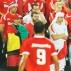 Torcedores de Internacional e Mazembe misturados no Mundial de clubes
