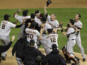 sao francisco giants vence world series baseball