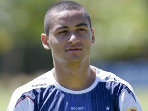 Atacante em treino do Cruzeiro